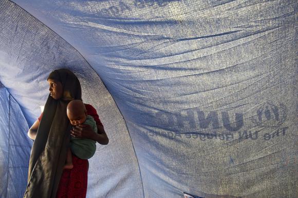 Pakolaisleirillä Etiopiassa. Kuva: UN Photo/Eskinder Debebe