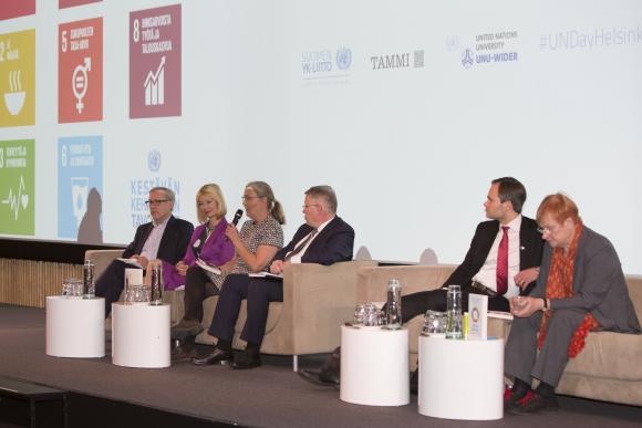 Panelistit YK:n päivänä