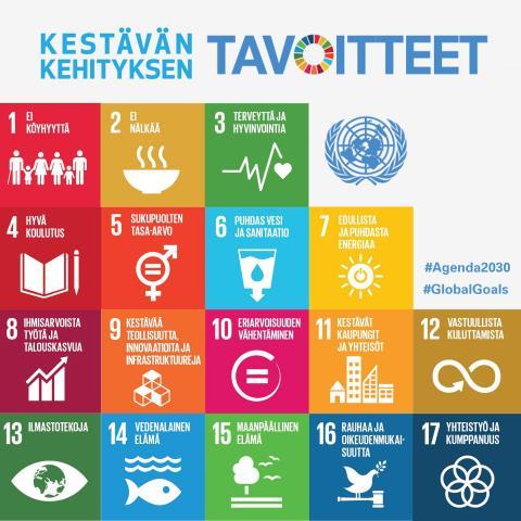 Kestävän kehityksen tavoitteet